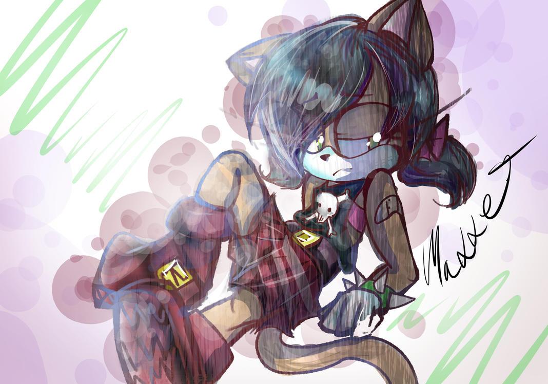 Sotnos The Cat by mangamaddee