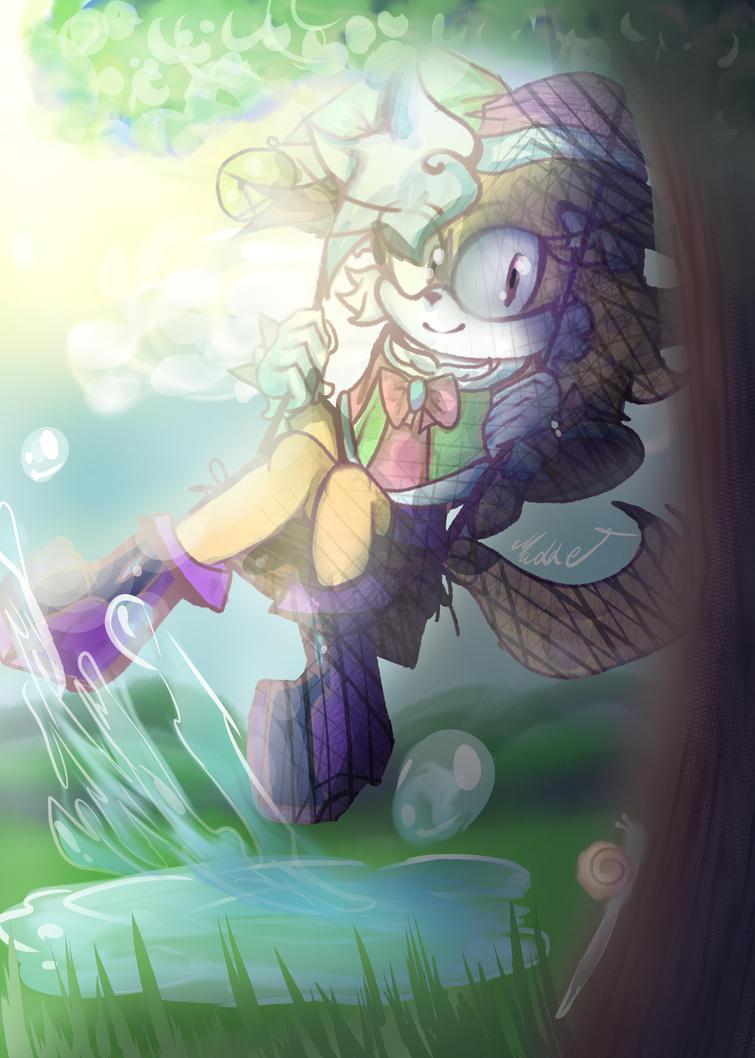 Jingle Foxy  by mangamaddee
