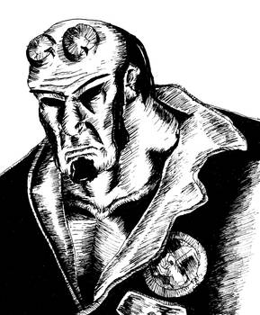 Hellboy Inked