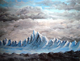 Concept Art Mountains 1 by Samael-SH0-to-5