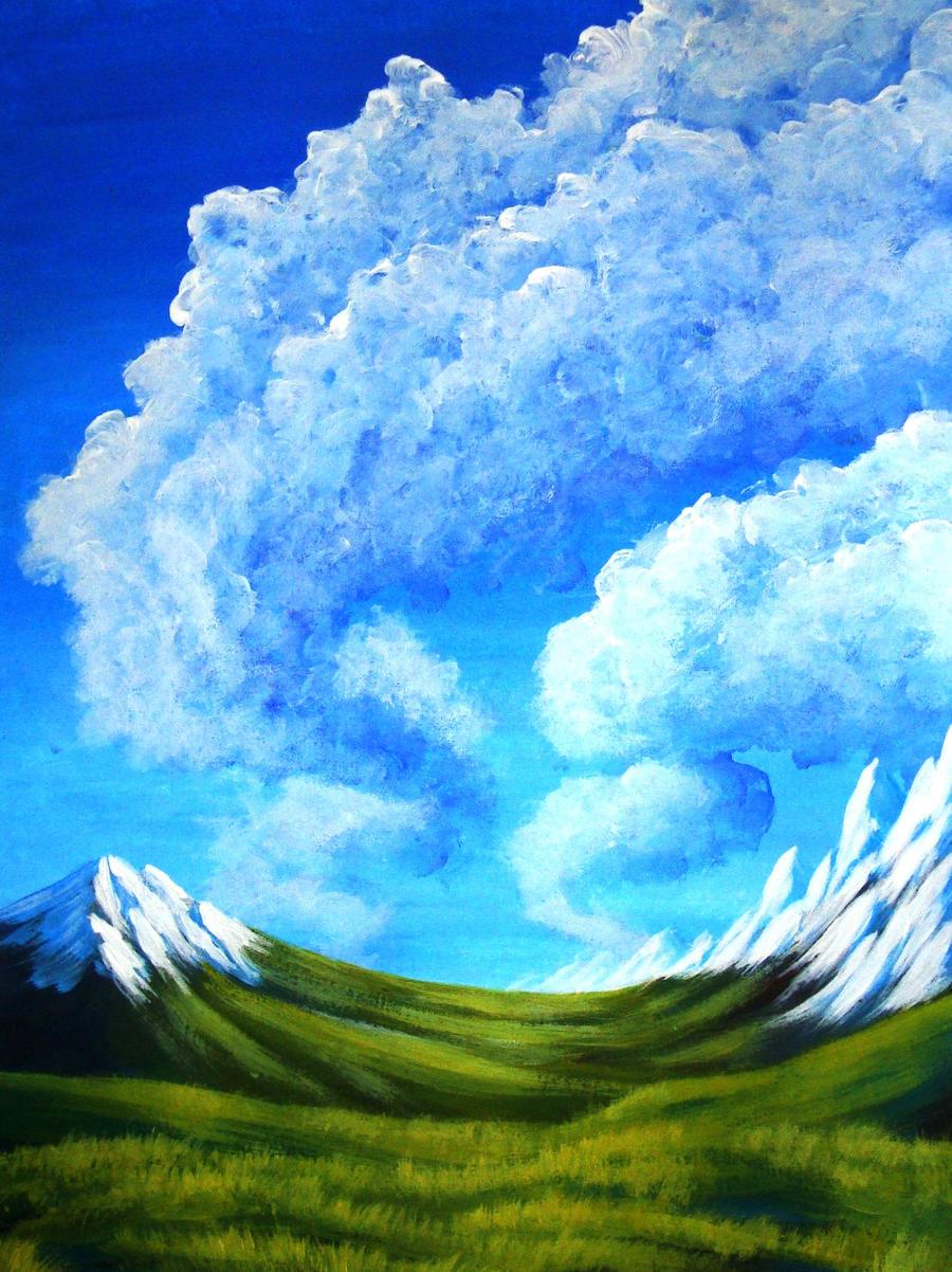 Mountains 4 Concept Art