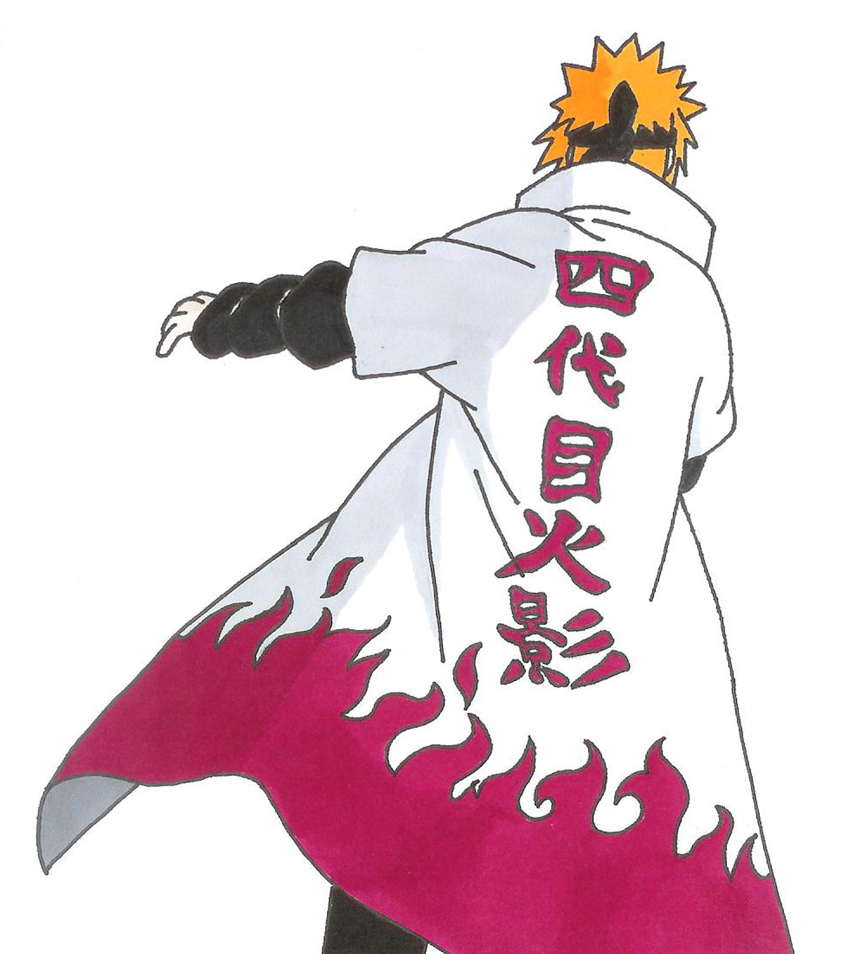 Minato Namikaze - 4th hokage - Naruto by epicchaos450 on ...