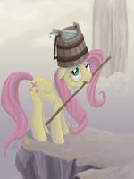 ATG Day 2: Fluttershy in training by EnigmaticElocution