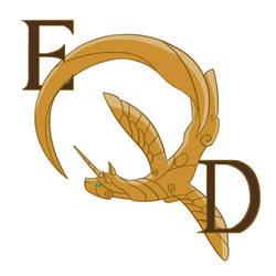 EQD Logo Contest Entry: Alicorn Q by EnigmaticElocution