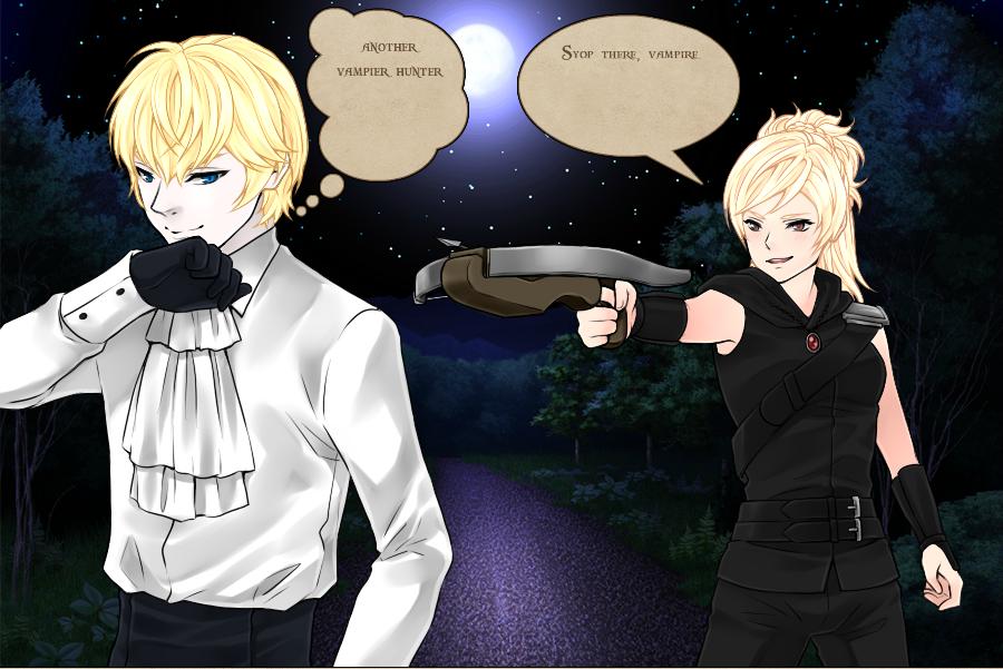 vampire hunter Astronema by Karaisister