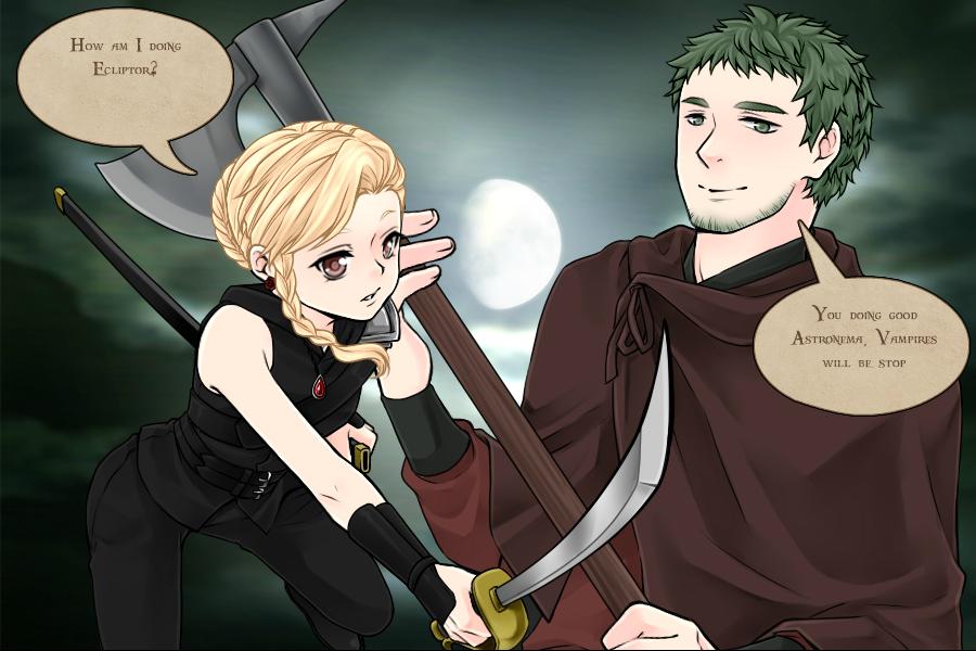 vampire hunter Astronema 3 by Karaisister