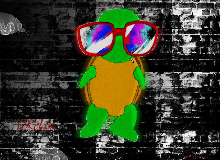 Relaxing trippy turtle by squeezedtwinkie on DeviantArt