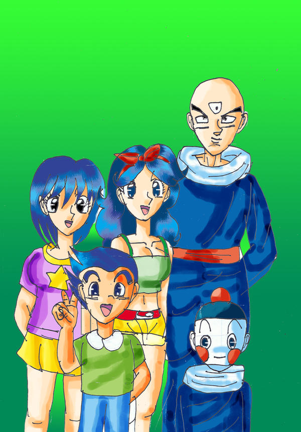 Tien And Launch's Family By YamchaFan91 On DeviantArt