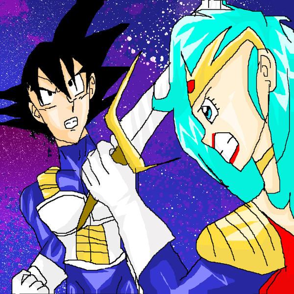 Goku vs bulma by yamchafan91 on deviantart - Goku e bulma a letto ...
