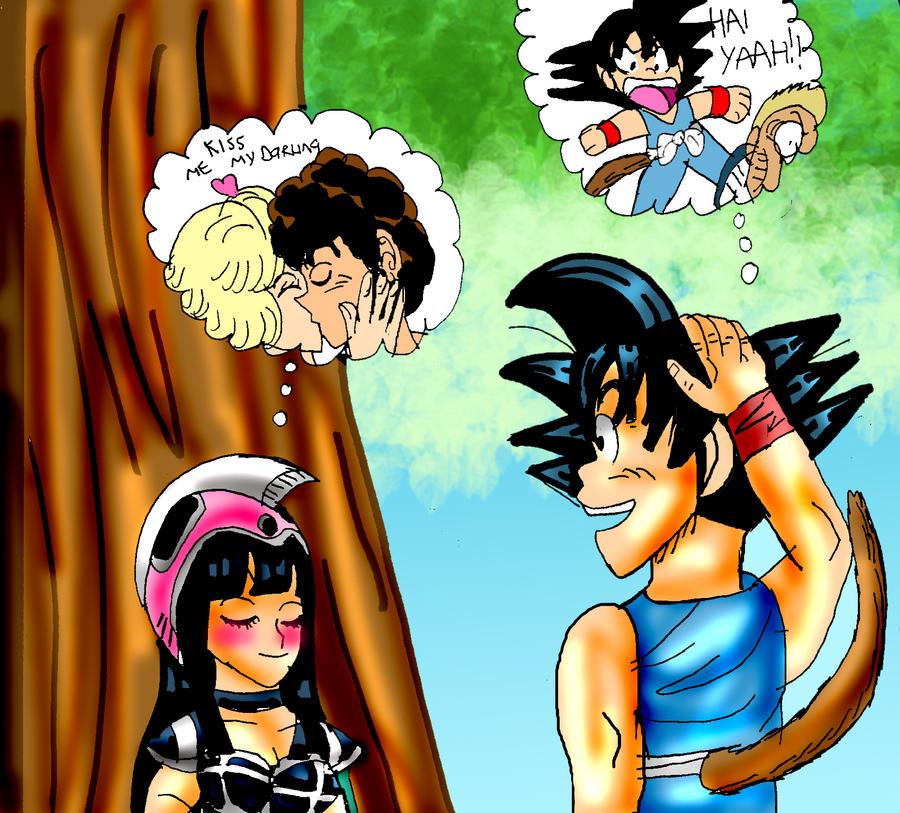 Goku Goten Gohan By Camlost On Deviantart Viewinviteco