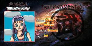 Arisa Fusion Budokai ID Card
