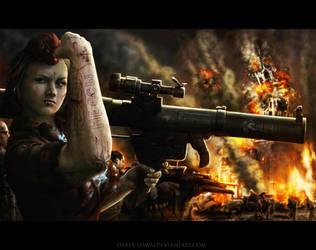 Bulletproof Alina by Darey-Dawn