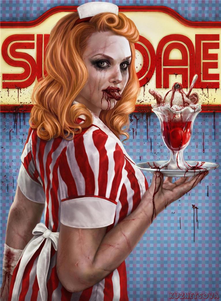 Bloody sundae by Darey-Dawn