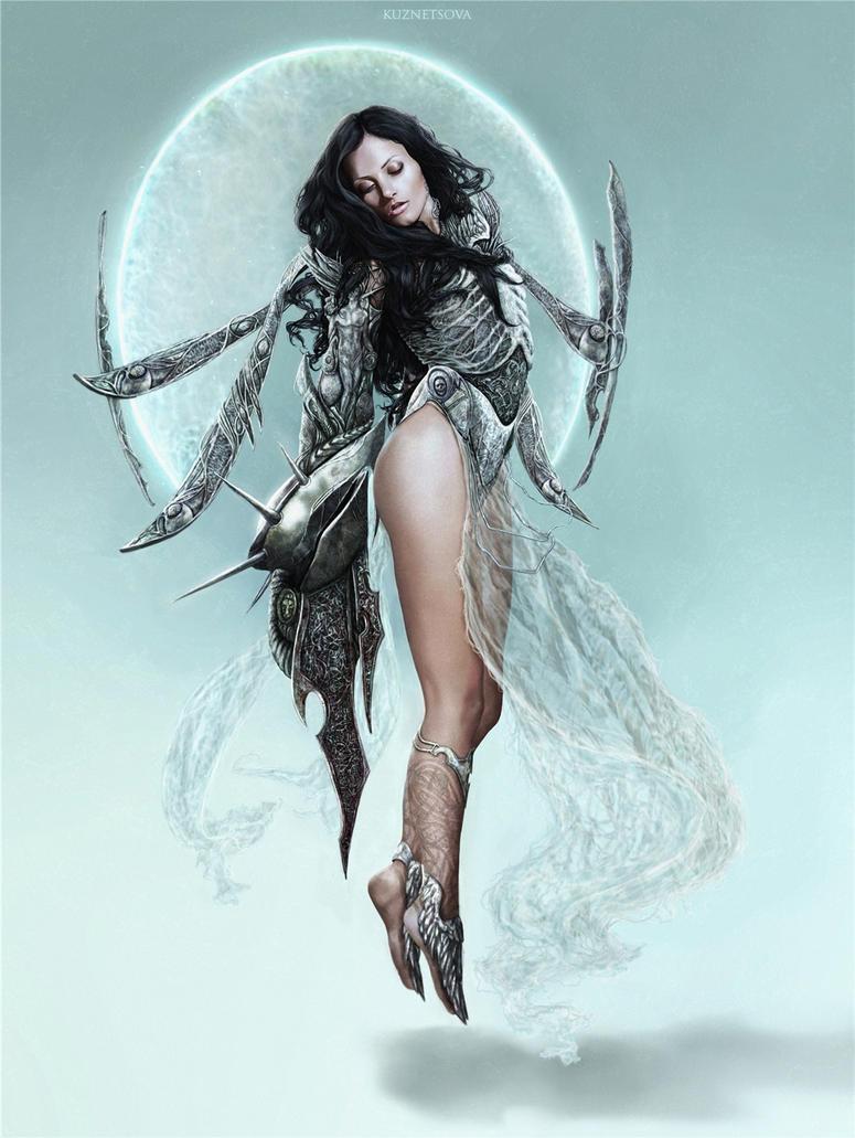 Winged warrior by Darey-Dawn