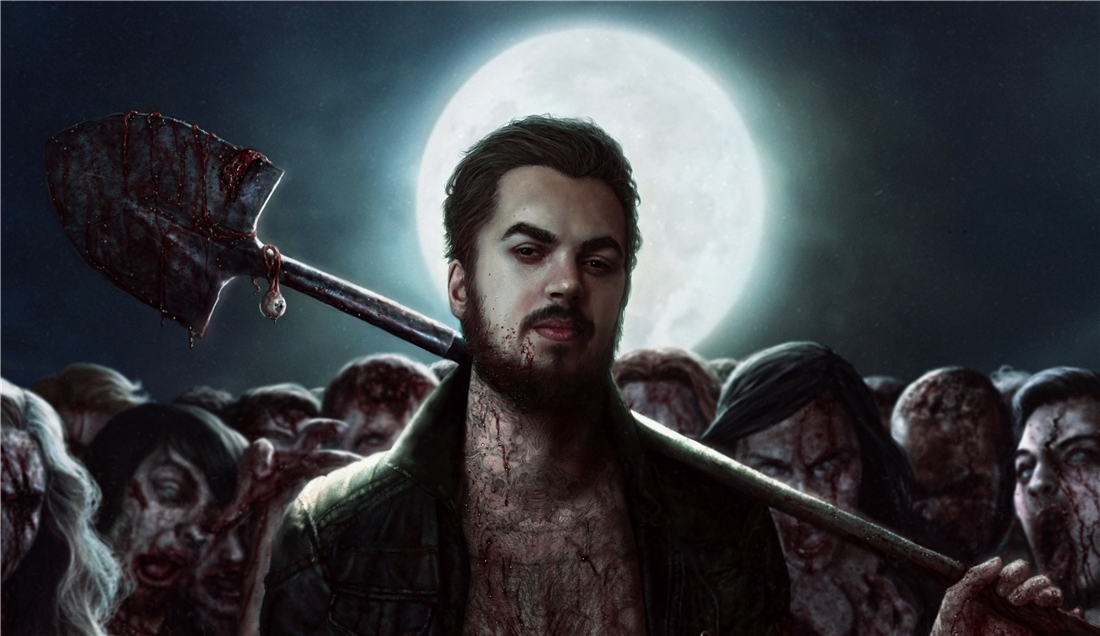 Zombie killer face by Darey-Dawn