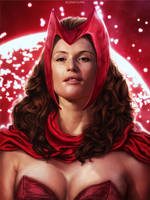 Gemma Arterton - Scarlet Witch by Darey-Dawn