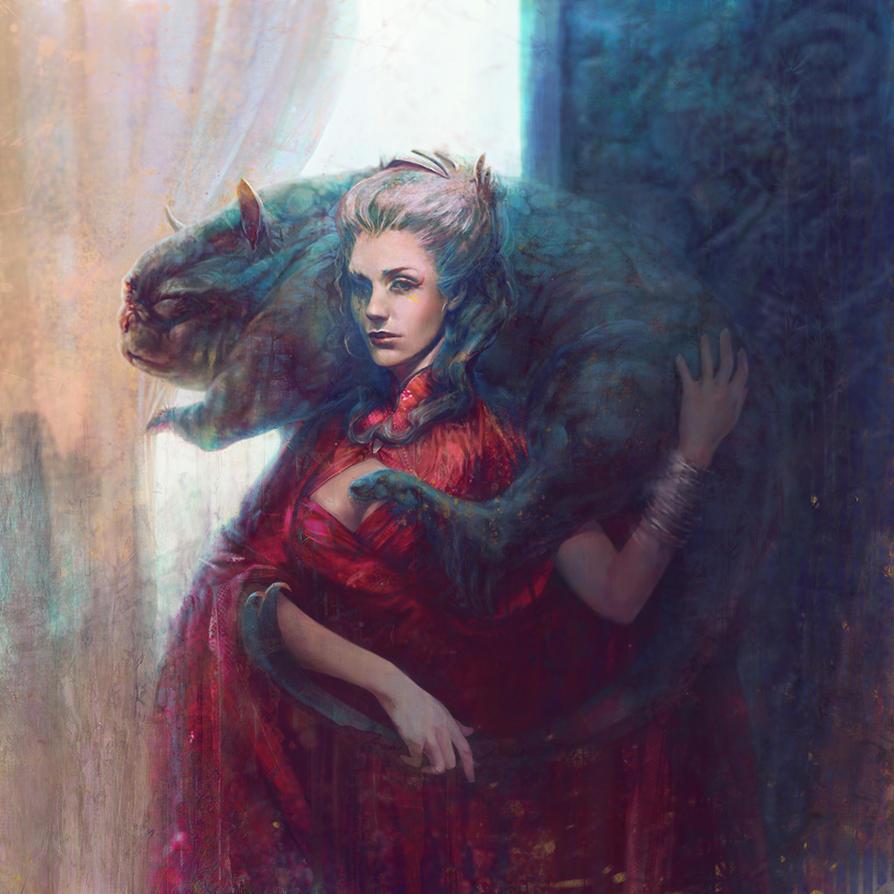 Meow Queen by Darey-Dawn