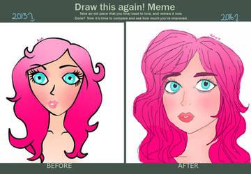 Draw this again! Meme :) by gabytamarcy