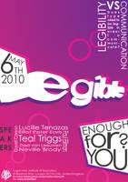 Legible Enough For You by Joshkrz