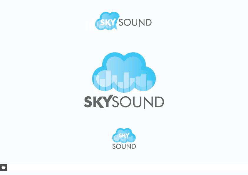 SkySound Logo Concept by Joshkrz