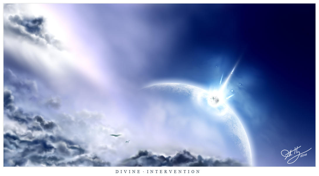 Divine Intervention by huang