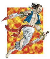Persian warrior by jarnac