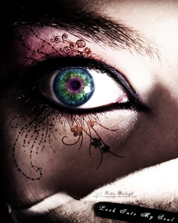 Look Into My Soul by RavenxCorpse