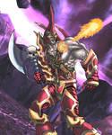 Warcraft Fan Art 2 colour