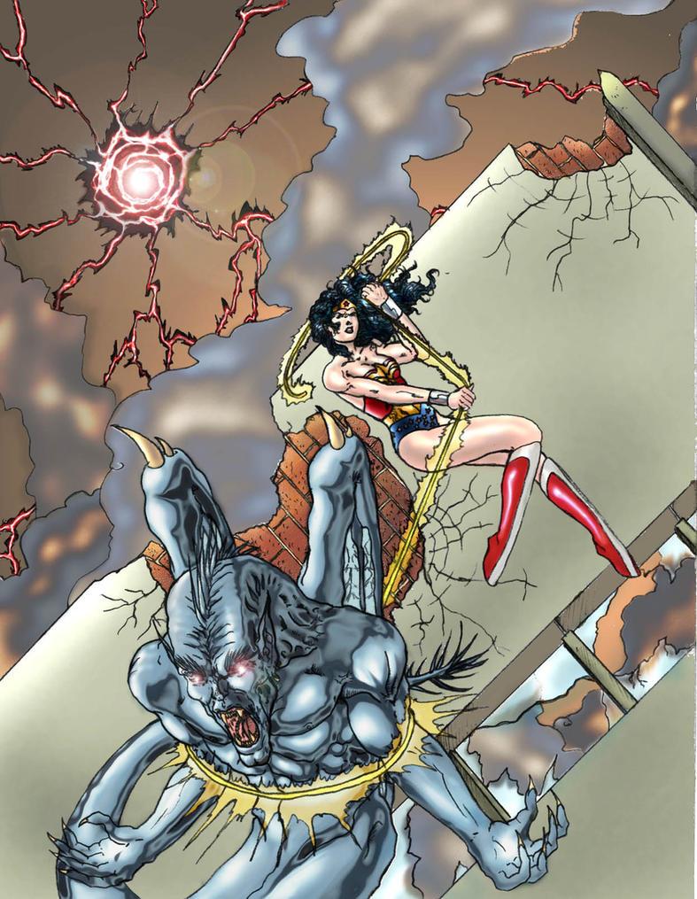 Wonder Woman Fan Art by M-Hydra