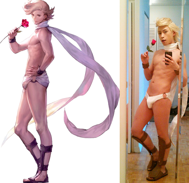Wakoku Warrior Ringabel Costest-Comparison by M-Hydra