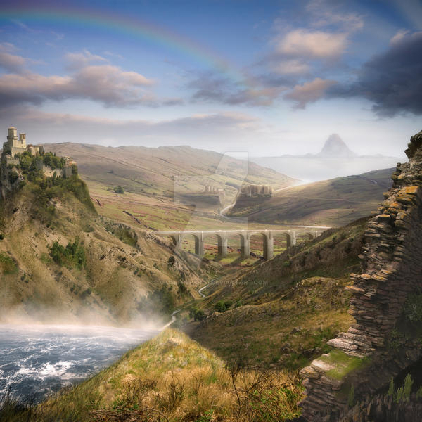 The Bridge To Dreamland II by GiuseppeParisi