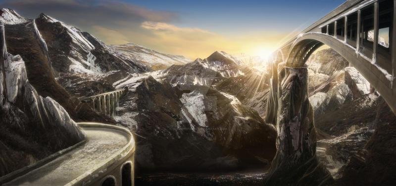 The Bridge to Dreamland III by GiuseppeParisi