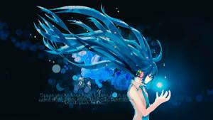 Wallpaper: Vocaloid - Hatsune Miku