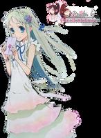 Render: AnoHana - Menma by Panelletdelimon