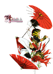 Render: Adekan - Shiro by Panelletdelimon