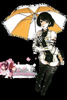 Render: Vocaloid - Meiko by Panelletdelimon