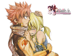 Render: Fairy Tail - Natsu and Lucy