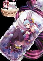 Render: Blueberry girl by Panelletdelimon