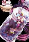 Render: Blueberry girl