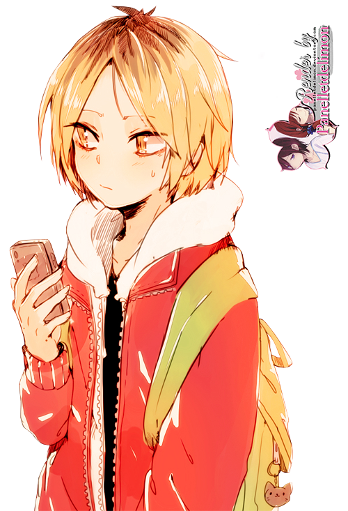مكتبة الرندرآت / الصور المقصوصة >   My Photo-Shop  Render__haikyuu____kozume_kenma_by_panelletdelimon-d7lo2uu