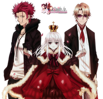 Render: K - Red trio by Panelletdelimon