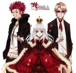 Render: K - Red trio