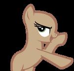Discorded Pony - MLP FIM Base