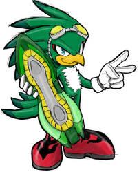 Jet the Hawk Sketchy