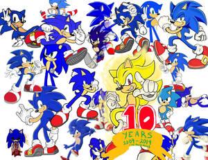 10 year sonic faniversary
