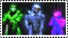 Red vs Blue AI stamp by SugarTabby72600