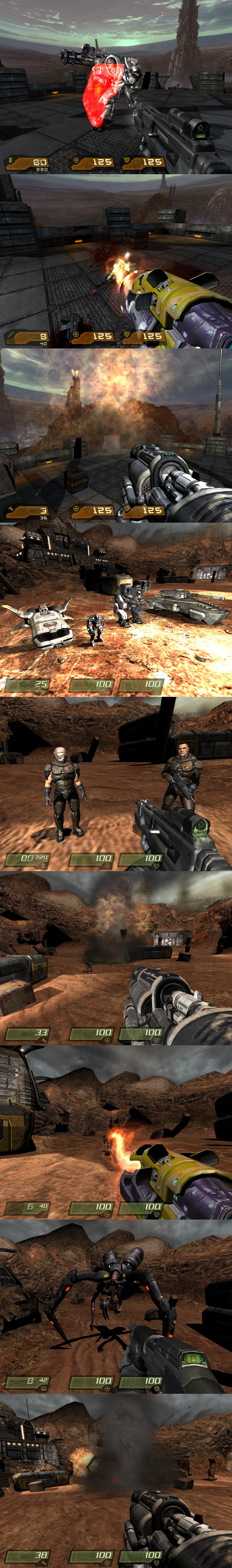 My Quake 4 mods- Not named yet by NeoMetalSonic360 on DeviantArt