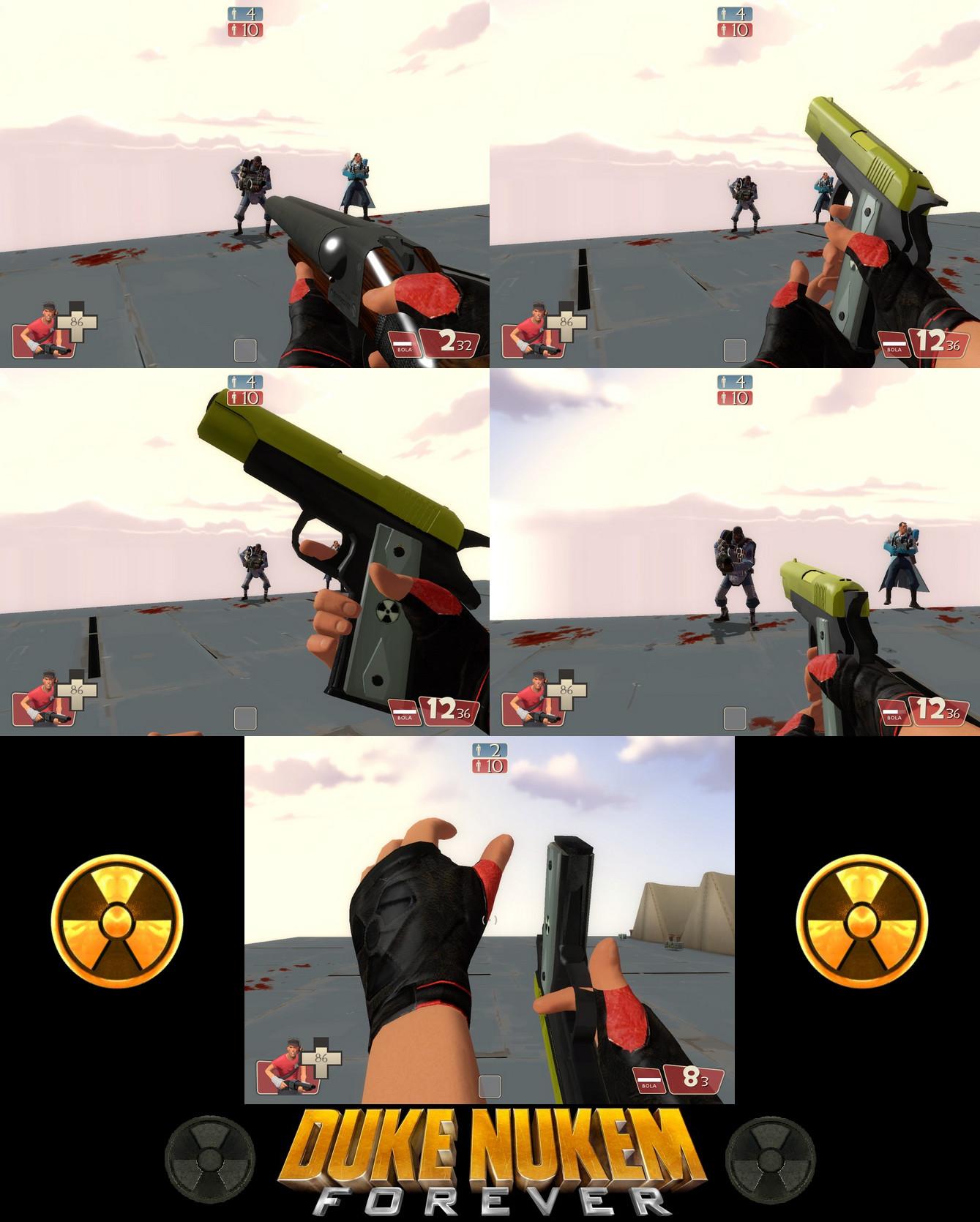 Duke Nukem Forever - TF2 mod by NeoMetalSonic360 on DeviantArt