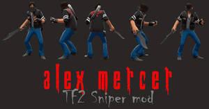 Alex Mercer - TF2 Sniper mod
