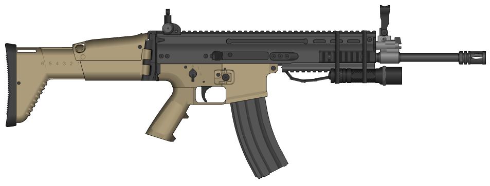Combat Rifle (L4D2) by NeoMetalSonic360 on DeviantArt
